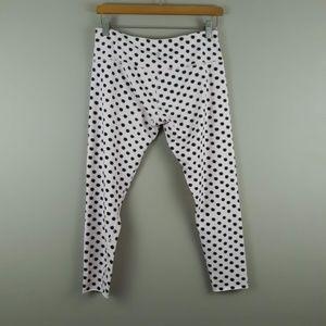Lululemon Polka Dot Leggings Wunder Under Size 10